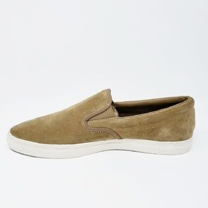 Fred Perry Men's Suede Slip On Sneaker